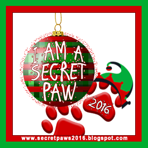 2016 Secret Paws BADGE