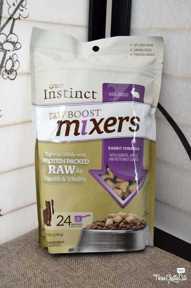 Nature's Variety Instinct Raw Boost Mixers for Cats