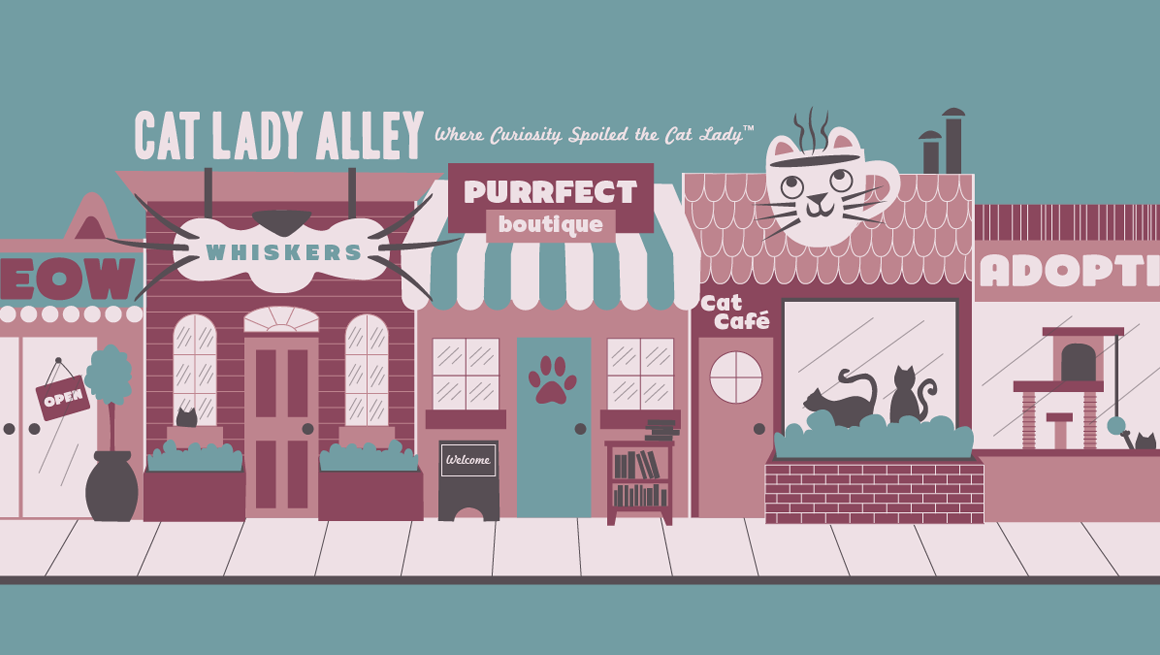 Cat Lady Alley