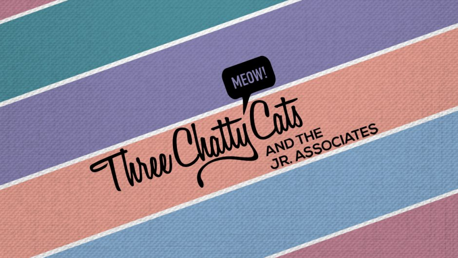 Three Chatty Cats and the Jr. Associates