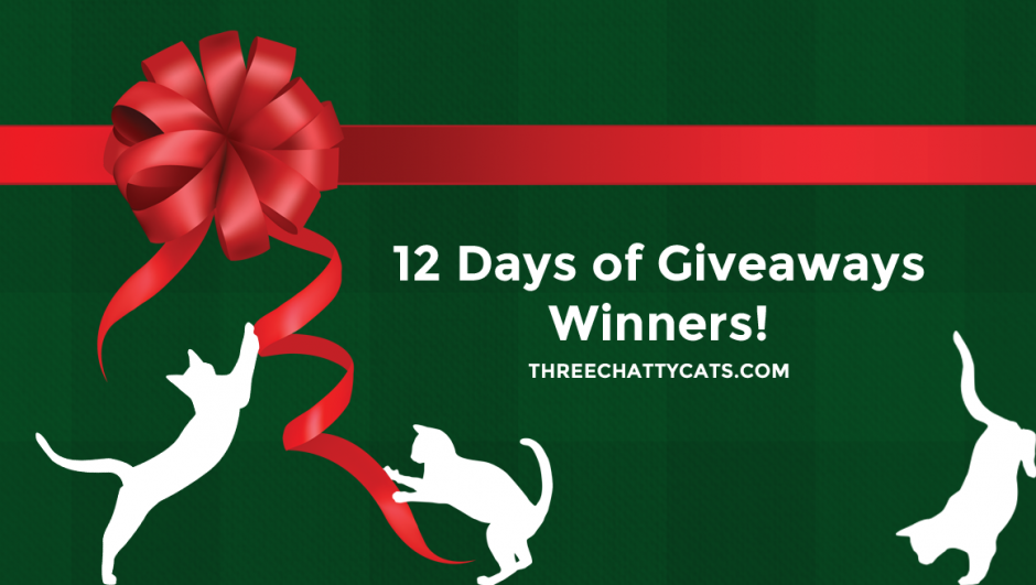 12 Days of Giveaways Winners