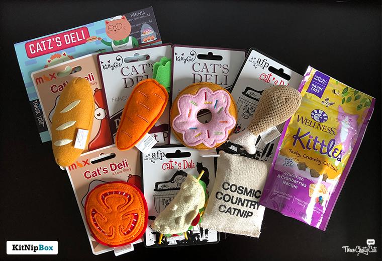 KitNipBox Catz's Deli items