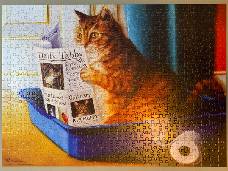 """""""kitty throne"""" puzzle"""