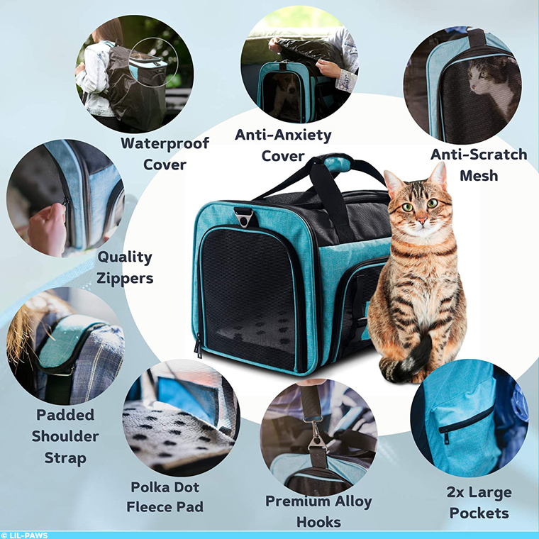 Lil-Paws pet carrier features